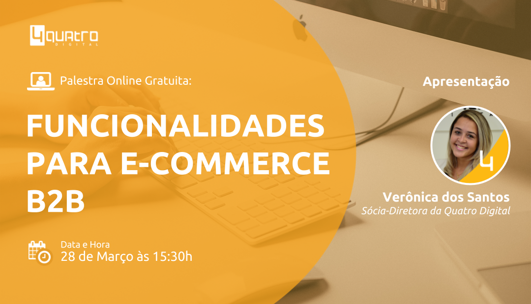 [Video] Webinar Gratuito – Funcionalidades VTEX para vender mais com e-commerce B2B